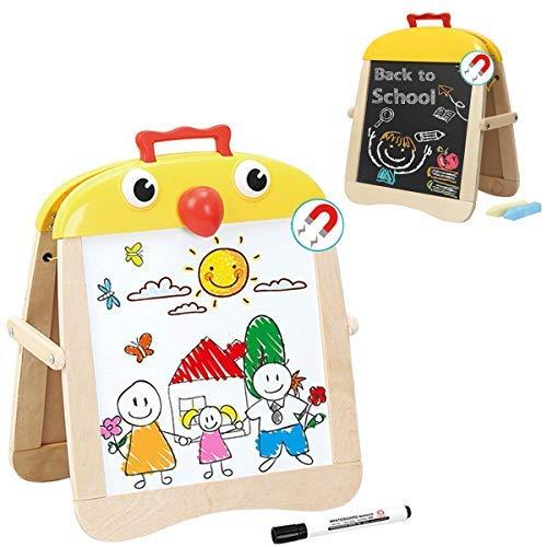 Pizarra Magnética Infantil 2 1 Madera Dibujo Niños