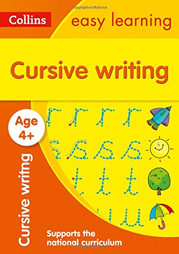Cursive Writing Ages 4-5 (Collins Easy Learning Preschool)