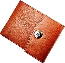 WENZEST Tan Mens Designer Wallet