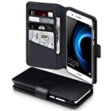 Huawei Honor 8 Case, Terrapin [ECHT LEDER] Brieftasche Case