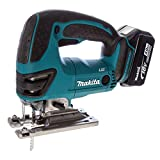 Makita DJV180RMJ 18 V Li-ion LXT Jigsaw Complete with 2 x 4.0 Ah Li-ion Batteries and Charger in a Makpac Case