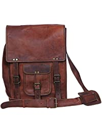 "9"" Leather Cross Body Bags Leather Sling Bag For Women Purse For Znt Bags"