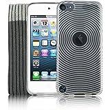 Kolay Coque en gel anti-chocs pour Apple iPod Touch 55ème génération + film protecteur d'écran + chiffon en microfibre