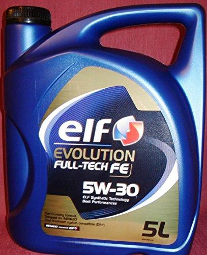 Car lubrifiant Elf Evolution Full-Tech FE 5W30 5 litres
