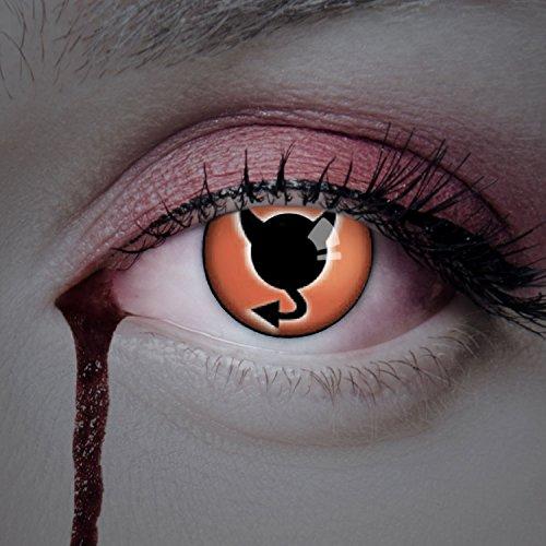 aricona Kontaktlinsen ohne Stärke farbige Jahreslinsen zum Teufel -