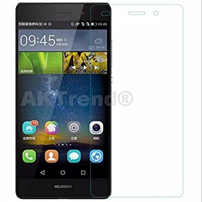 AKTrend® Huawei P8 Smartphone Panzer Glas Display Schutzfolien SCHUTZFOLIE Panzerfolie DISPLAYFOLIE SCHUTZ FOLIE Klar FÜR Huawei P 8 Smartphone AP11