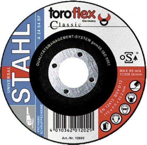 Toroflex Schruppscheibe 125 X 6 Metall