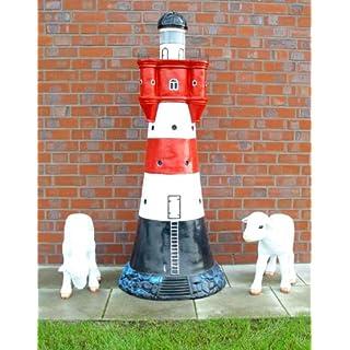Gigantischer Leuchtturm 172 cm für den Garten mit Licht