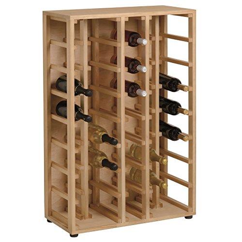 Renoir - Linéaire Cellar - Cave à vin en pin massif pour 40 bouteilles