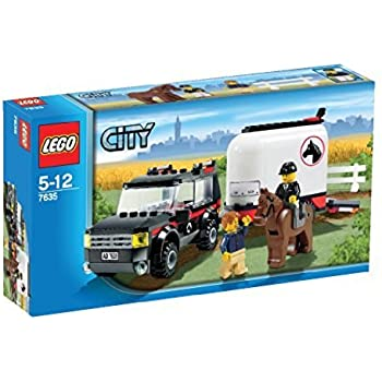 lego 7635 jeu de construction city le transport de. Black Bedroom Furniture Sets. Home Design Ideas