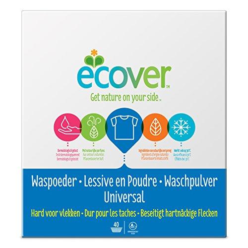 Ecover Universal Waschpulver Konzentrat Lavendel, 1er Pack (1 x 40 Waschladungen) -