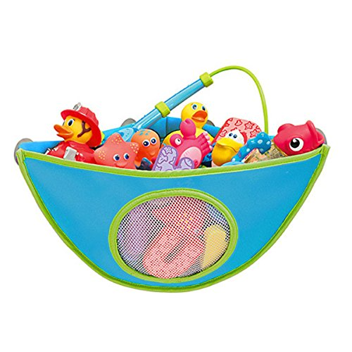 bluelover-bebe-bano-juguete-almacenamiento-bolsa-impermeable-ventosa-triangulo-bolsa-azul