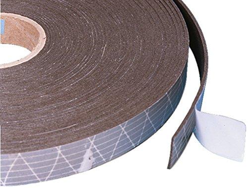 Monacor 12.3010 20m LS-Schaumdichtband, grau Speaker-schaum