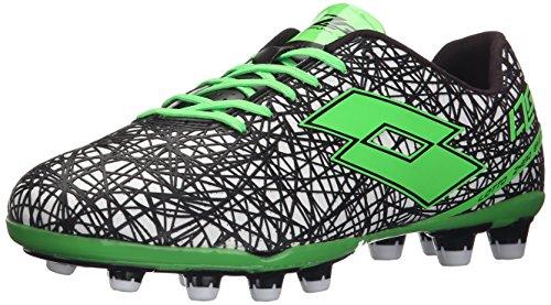 Lotto Lzg VII 200 FG, Chaussures de Football Pour Compétition Homme Blanc - Weiß (WHT/MINT FL)