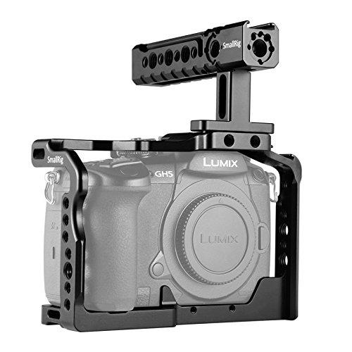 SMALLRIG GH5 GH5S Cage Kit pour Panasonic GH5 GH5S avec Camera Cage et Poignée Supérieure 2050