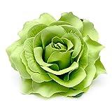 #2: LQZ Men's Flower Brooch Rose Hair Clip Flamenco Dancer Pin Bride Women Rose Flower Wreath Crown Hairband