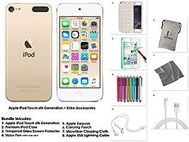 Apple iPod Touch 16 Go - Or + Accessoires supplémentaires 6ème génération **Nouveau Modèle Juillet 2015**