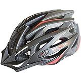 Moon Sports MTB Road Cycling Helmet 21 Vent Adult Lightweight Helmets CE EN1078 Approvals PC+EPS Black Red White Adjustable
