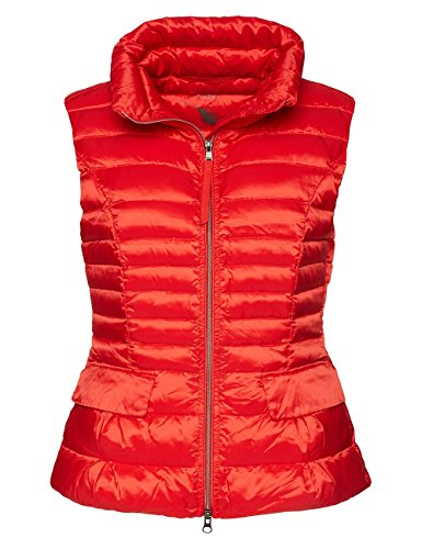 Marc Cain Essentials, Gilet Sportivo Donna Rot (scarlet 272)