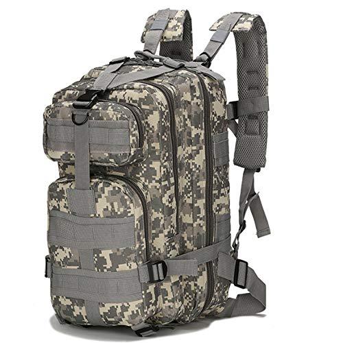 Junyee Outdoor Wandern Rucksack, Multifunktionale Militärische Ausrüstung Camping Wasserdichte Camouflage Rucksack für Trekking, Angeln und Jagd (ACU Digital) -