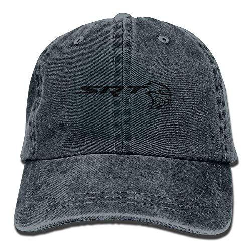 Wfispiy SRT-Dodge Challenger Logo Unisex Baseball Cap Trucker Hat Adult Cowboy Hat Hip Hop Snapback ABCDE13440