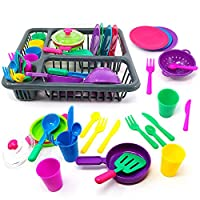 URBN Toys 25pc Kids Kitchen Dish Playset