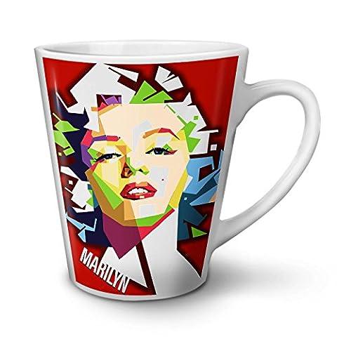 Heiß Marilyn Monroe Berühmt NEU Weiß Tee Kaffe Keramik Latté Tasse 12 oz | Wellcoda