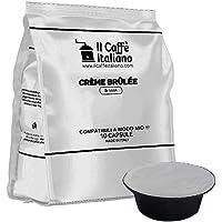 FRHOME - 80 Capsule al Creme Brulèe - Compatibili con Macchine da caffè Lavazza a Modo Mio – Il Caffè Italiano