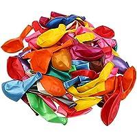 Gudelaa 100pcs Joya Tonos Globos de Color para el Banquete de Boda