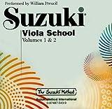 Suzuki Viola School CD 1+2: CD (Suzuki Method)