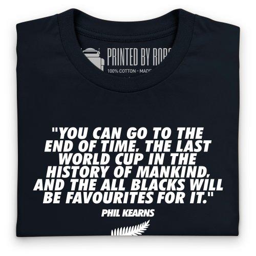 Phil Kearns Quote T-Shirt, Damen Schwarz