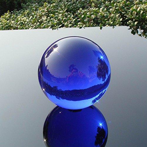 GUANGMING77 Blue Crystal Glass Bead Aus Massivem Glas Kugel 20-30-40 5060708090130 150 Mm, 30 Mm, Blau