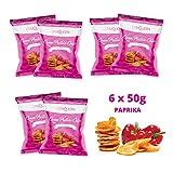 Gym Queen Protein Chips (6x50g) Paprika