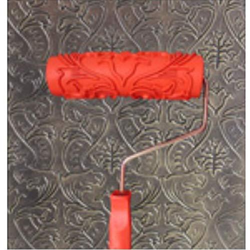 7 rulli di gomma texture decorativa rifornimenti e strumenti per la pittura a rullo-a16