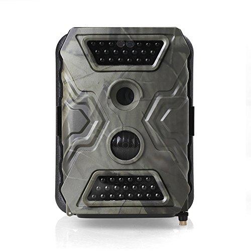 KEEDOX-12MEGA-PIXEL 1080P CAMARA DE CAZA TROPHY CAM CAMARA DE VIDEO DIGITAL IMPERMEABLE CON SALIDA TV SENSOR INFRARROJOS 40PCS LED CAMARA DE VIGILANCIA