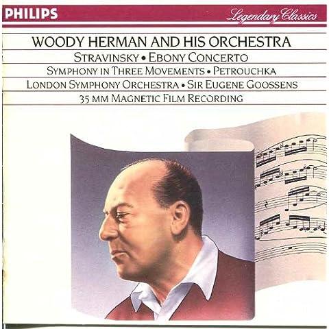 Stravinsky-Goosens -Ebony