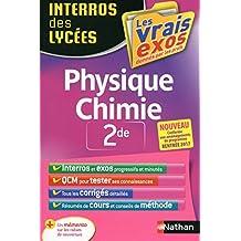 Interros des Lycées Physique - Chimie 2de