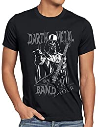 style3 Darth Metal Band T-Shirt Homme