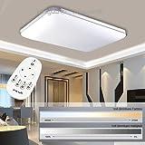 Hengda® 48W LED Deckenleuchte Deckenlampe Wohnzimmer bad Küche Panel Leuchte Dimmbar 2700-6500K