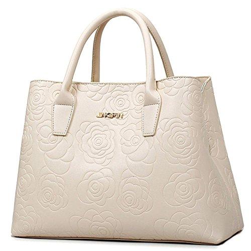 GBT Wilde einfache Art und Weise Handtasche Schulter Messenger Handtasche Beige