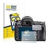 BROTECT Panzerglas Schutzfolie für Nikon D610 - Flexibles Airglass, 9H Härte, Anti-Kratzer
