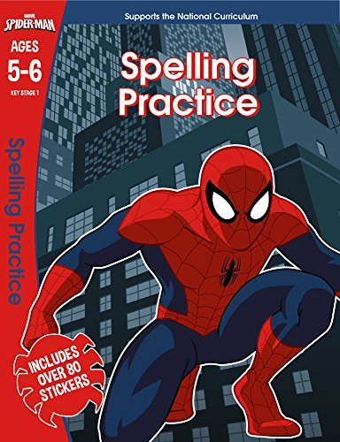 Spider-Man: Spelling Practice, Ages 5-6 (Marvel Learning)