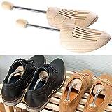 infactory Schuhformer: 1 Paar Schuhspanner aus Kiefernholz