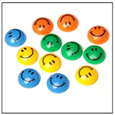 eS³kube Smiley2 Magnet Buttons (Set Of 12)