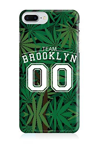 COVER weed Hasch team brooklyn 00 grün Design Handy Hülle Case 3D-Druck Top-Qualität kratzfest Apple iPhone 7