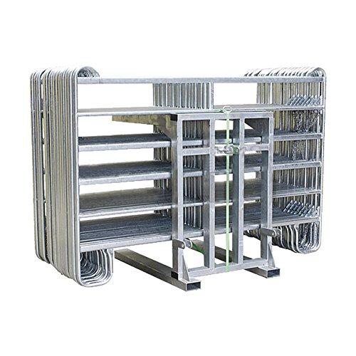 Panel-Transportgestell mit Dreipunktaufhängung und Spanngurt mit Ratsche - 310250 -