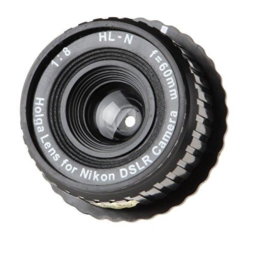 B.I.G. Holga Objektiv HL-N 8/60 mm für Nikon schwarz