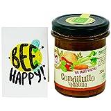 Conditutto Vegetale - Crema di Verdure Biologica Italiana - Sostituto Naturale al Dado - Provenienza carote, cipolla e sedano: Cesena