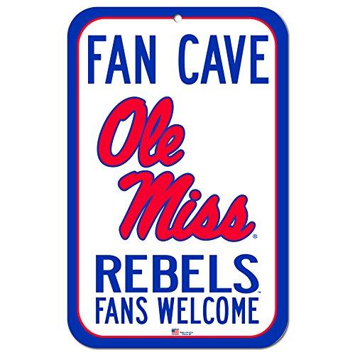 Mississippi Street Sign (FGCSports 27,9x 43,2cm Fan Cave Fans Welcome Schild Universität Mississippi Ole Miss Rebels)
