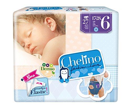 CHELINO Junior, T6 - 162 pañales